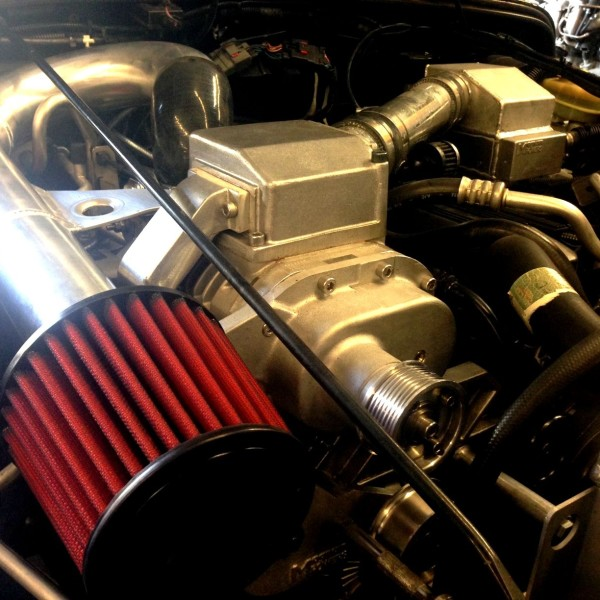Supercharger Kits For Jeep 2 5: Magnum Powers Jeep TJ Supercharger Kit Air Intake Upgrade